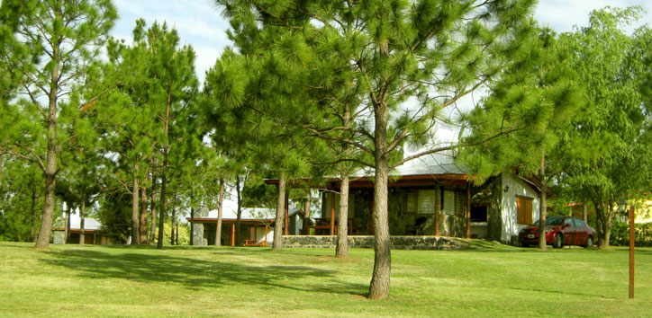 4 Cabañas Rincón de los Reartes Córdoba - Cabañas.com