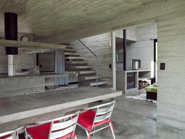 vdinterior2 V & D - Casas en Mar Azul, Alojamiento en Cabañas