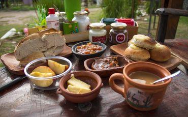 desayuno_de_campo Apart del Valle Tafi del Valle
