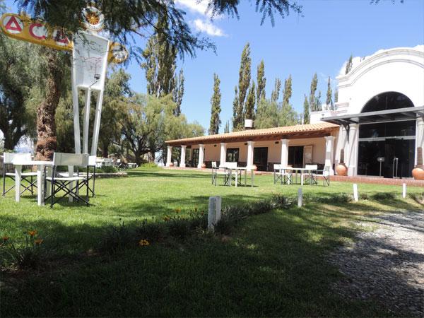 vistaexterior3hosteriaguayacanviejo Hostería Automóvil Club Argentino Cachi - Cabañas.com
