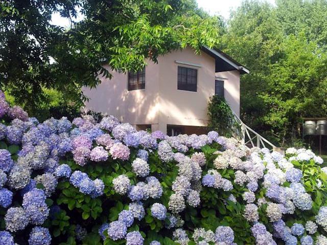 Villa Elda Fachada Cabañas