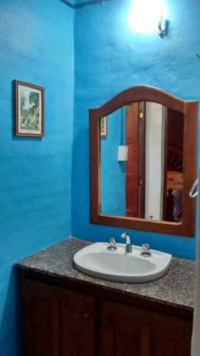 bagno Cabañas Los Quebrachos Villa del Dique Córdoba