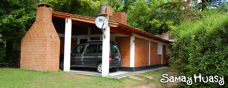 caba1 Samay Huasy Cabañas en San Luis