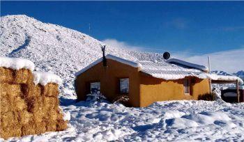 ecocasa01 Valle del Cielo cabañas en uspallata