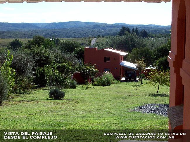 paisaje002 Cabañas Tu Estación