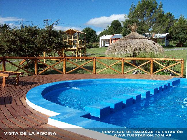 piscina003 Cabañas Tu Estación