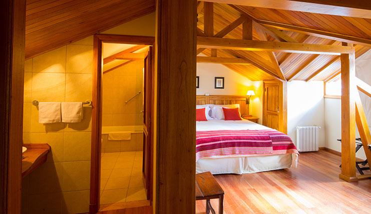 suite1 Hostería Senderos Hostería en El Chaltén