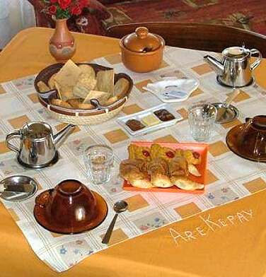 desayunoserrano Hostería Are Kepay (Villa Carlos Paz, Córdoba) - Cabañas.com