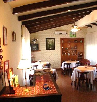 lobby Hostería Are Kepay (Villa Carlos Paz, Córdoba) - Cabañas.com