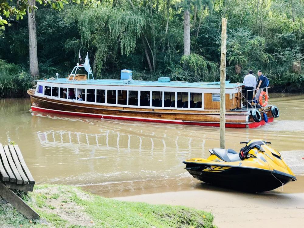 Transporte1 Río Manso Tigre solo para adultos   Cabañas.com