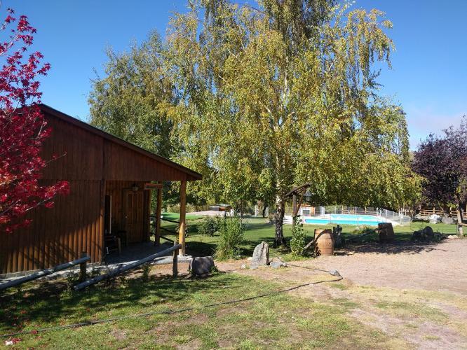 exteriores8 Alto Potrerillos cabañas en Potrerillos Mendoza